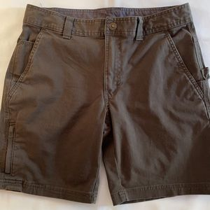 Columbia Shorts Size 30 Olive Green Regular Fit